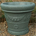 Green Granite Garden Planter